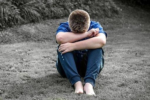 Sadness is still alone