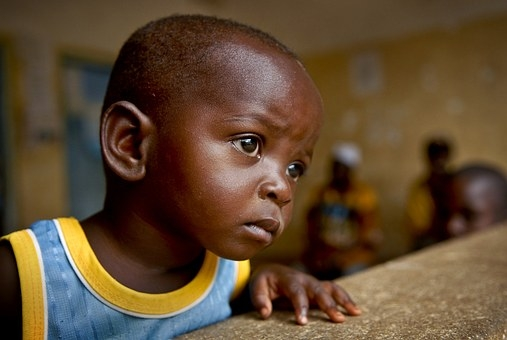 Poverty snatched the childhood of child