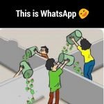 THis is whatsapp: how desi people use whatsapp