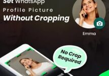 How to set WhatsApp Profile picture (DP) without cropping 2020