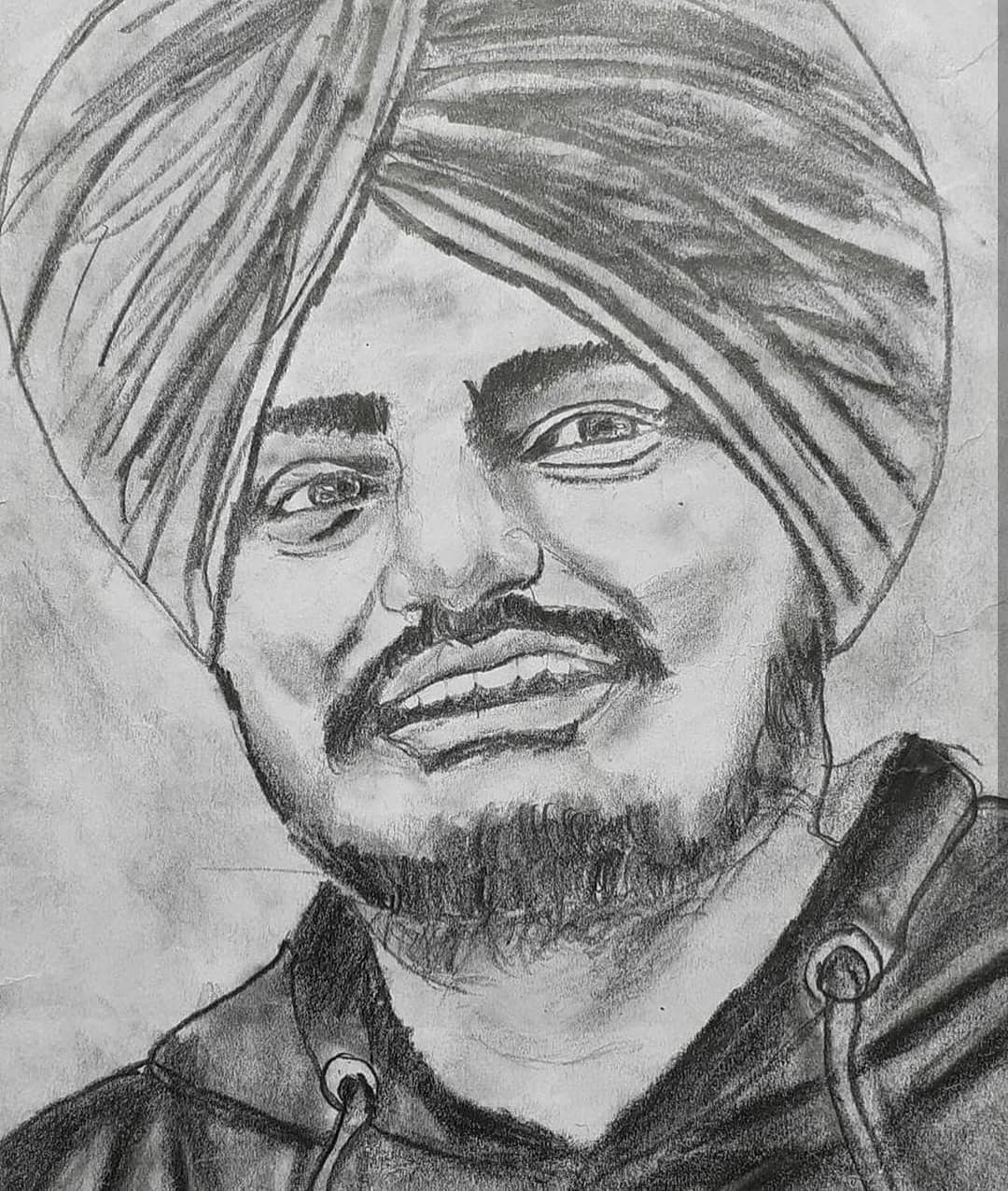 Sidhu moose wala sketch HD