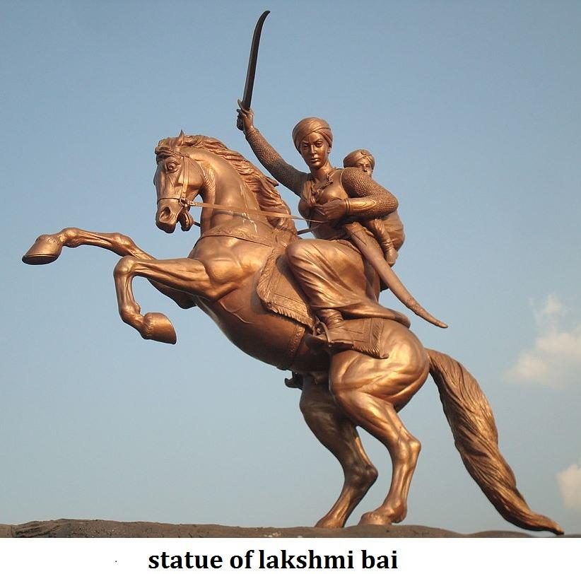 lakshmi bai statue freedom fighter image