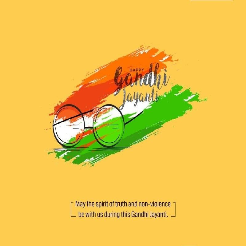 gandhi jayanti images drawing