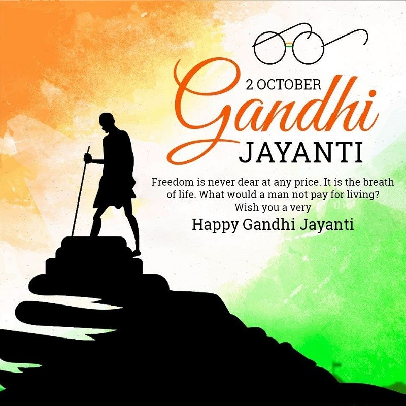 gandhi jayanti images with quotes for downnload