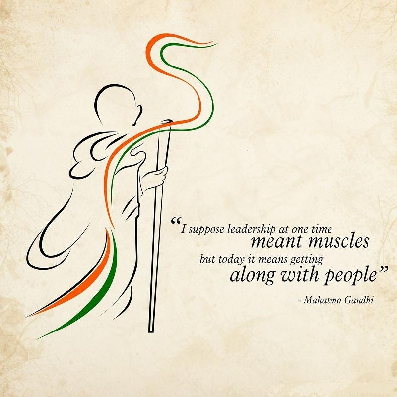 Mahatma Gandhi Quotes on birthday in english & hindi
