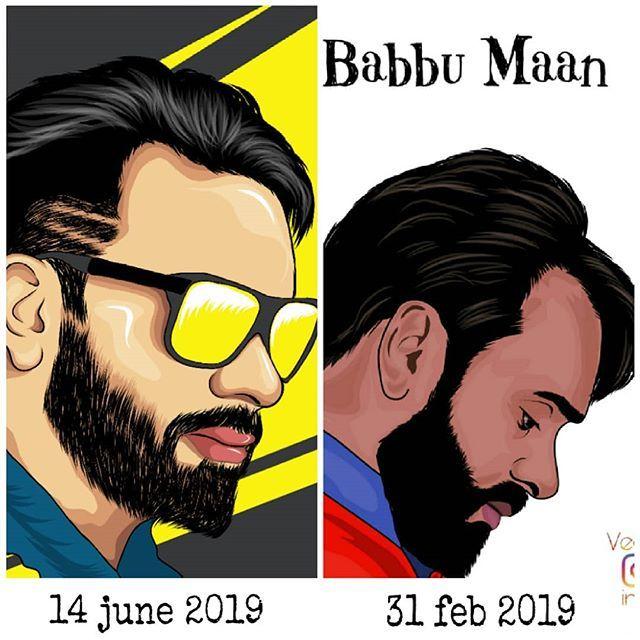 babbu maan images sticker