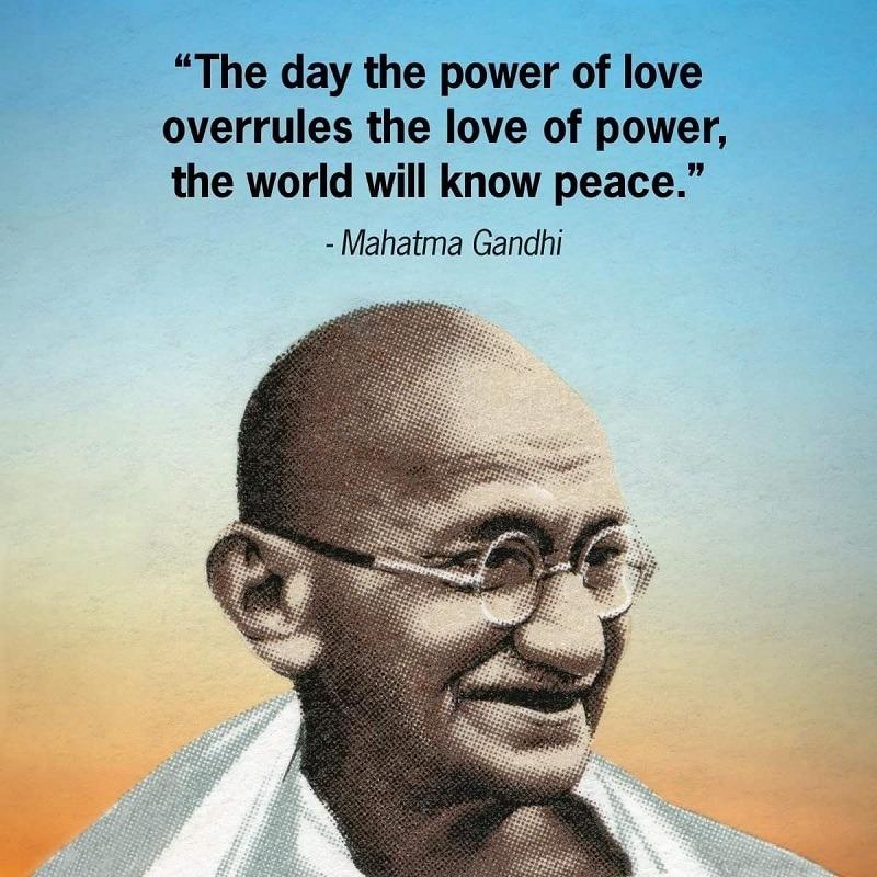 Mahatma Gandhi Quotes on birthday