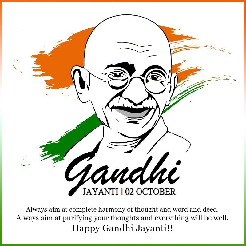 gandhi jayanti pictures for wishes