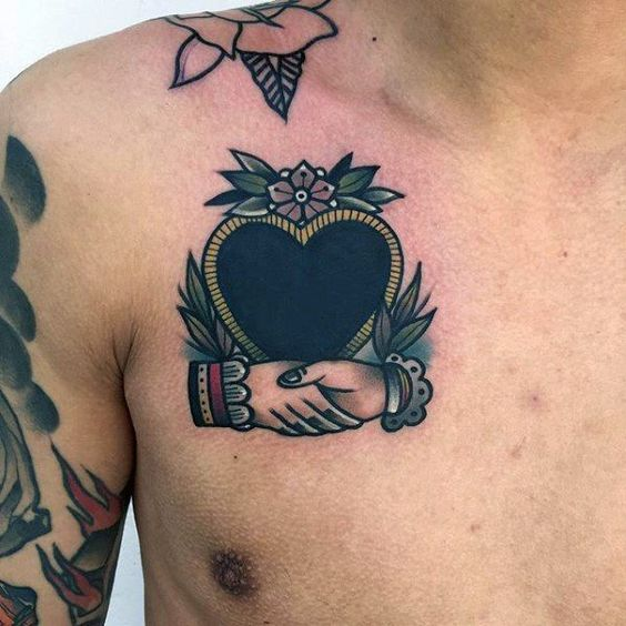 Love dp for whatsapp heart tattoo