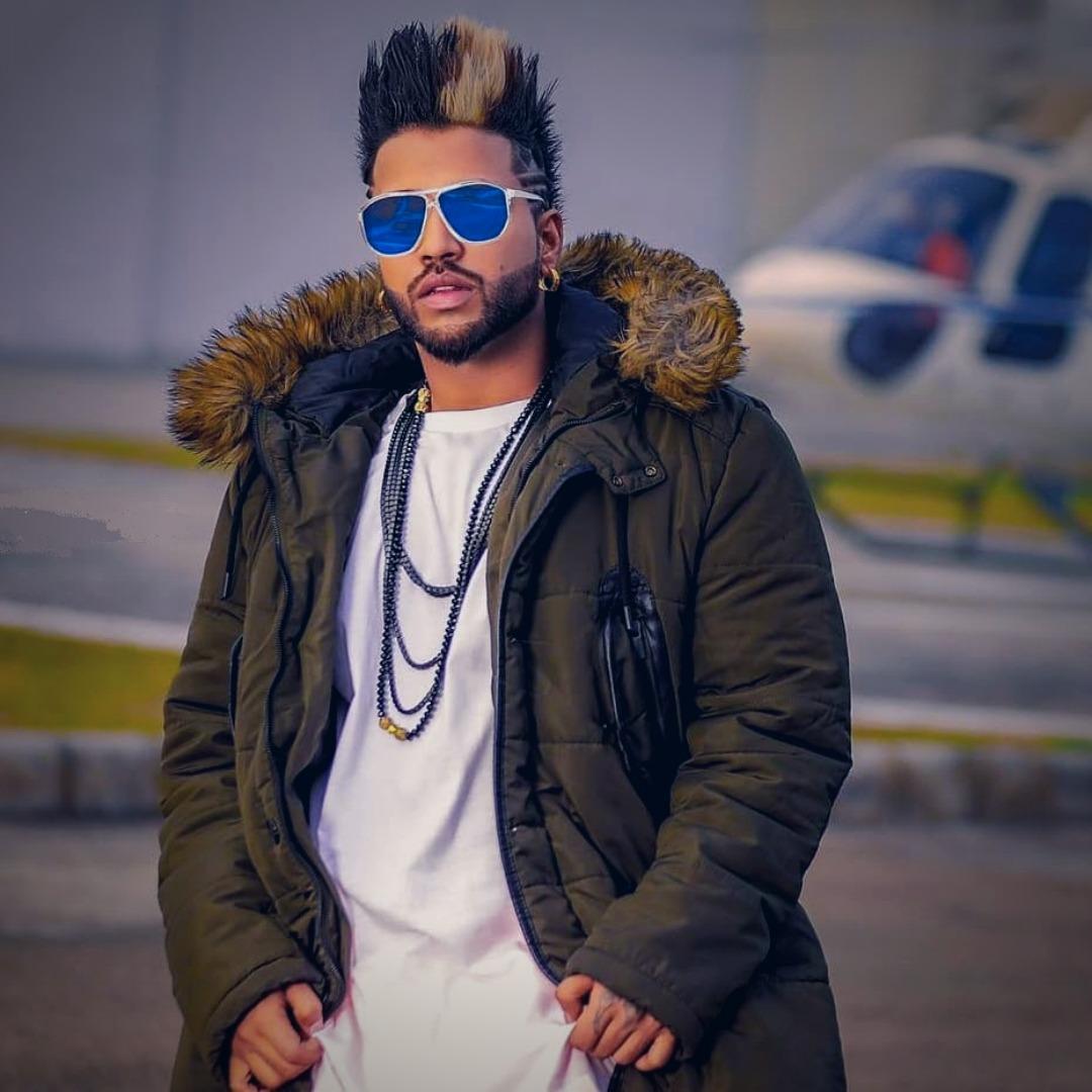 Punjabi Singer Hair Style Sukhe