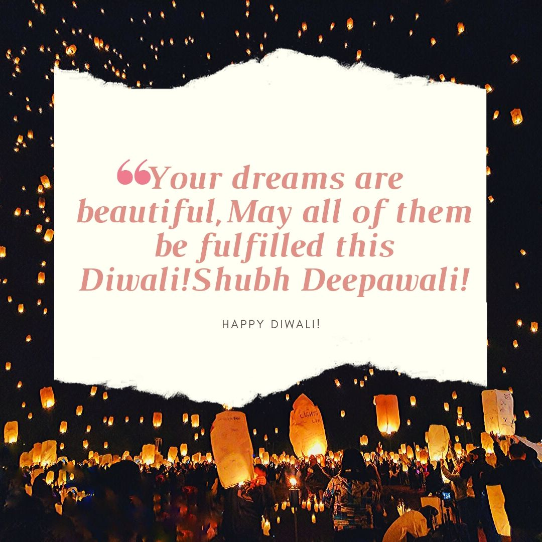 Happy Diwali Quotes in english for friends, family & girlfriend