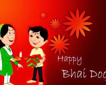 Happy bhai dooj Wallpaper status