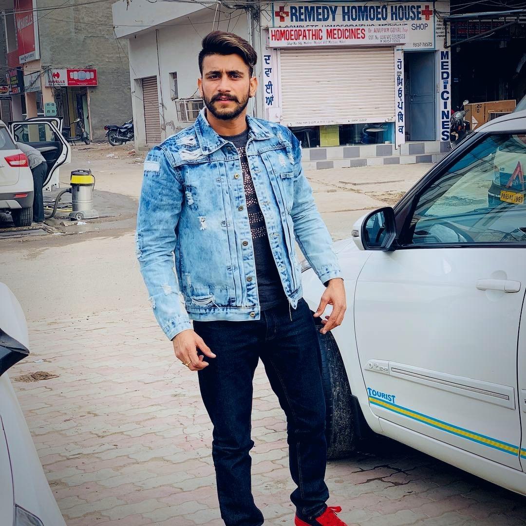 Punjabi singer Nawab pictures