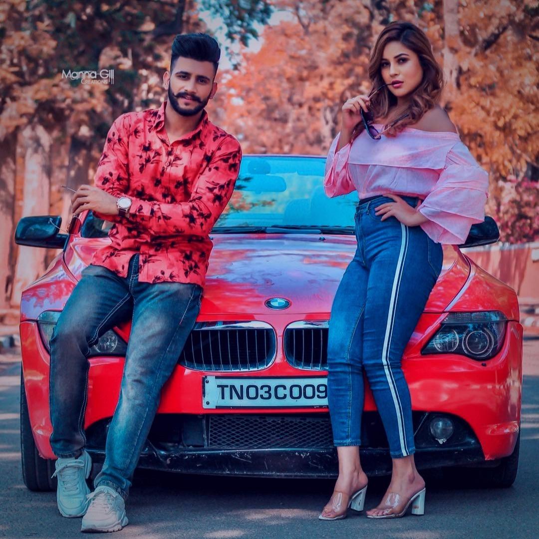 Punjabi singer Nawab HD photos