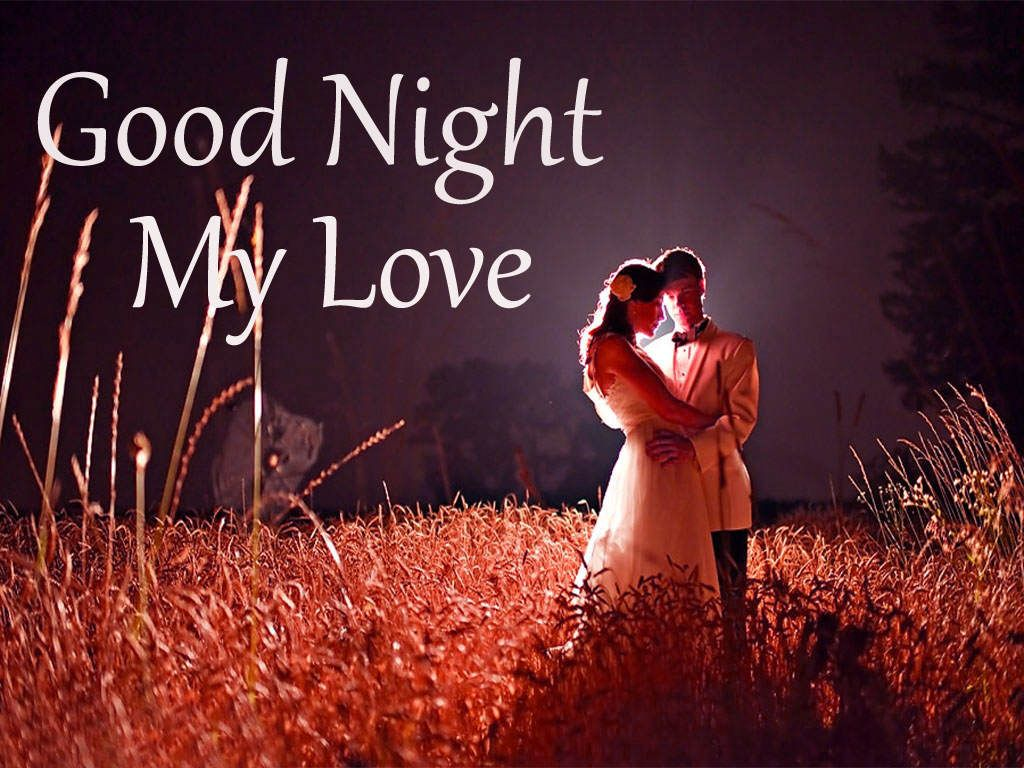 Love romantic good night photo