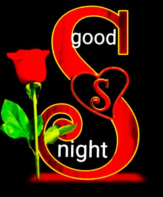 Romantic good night image for whatsapp