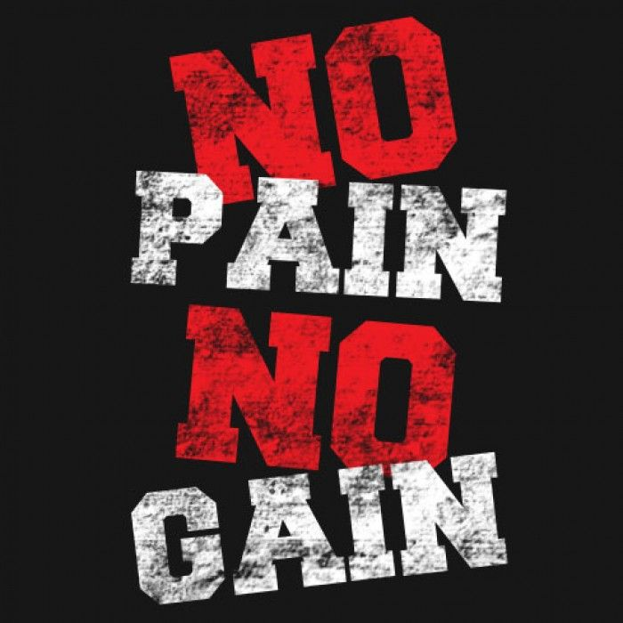 no pain no gain quotes pictures
