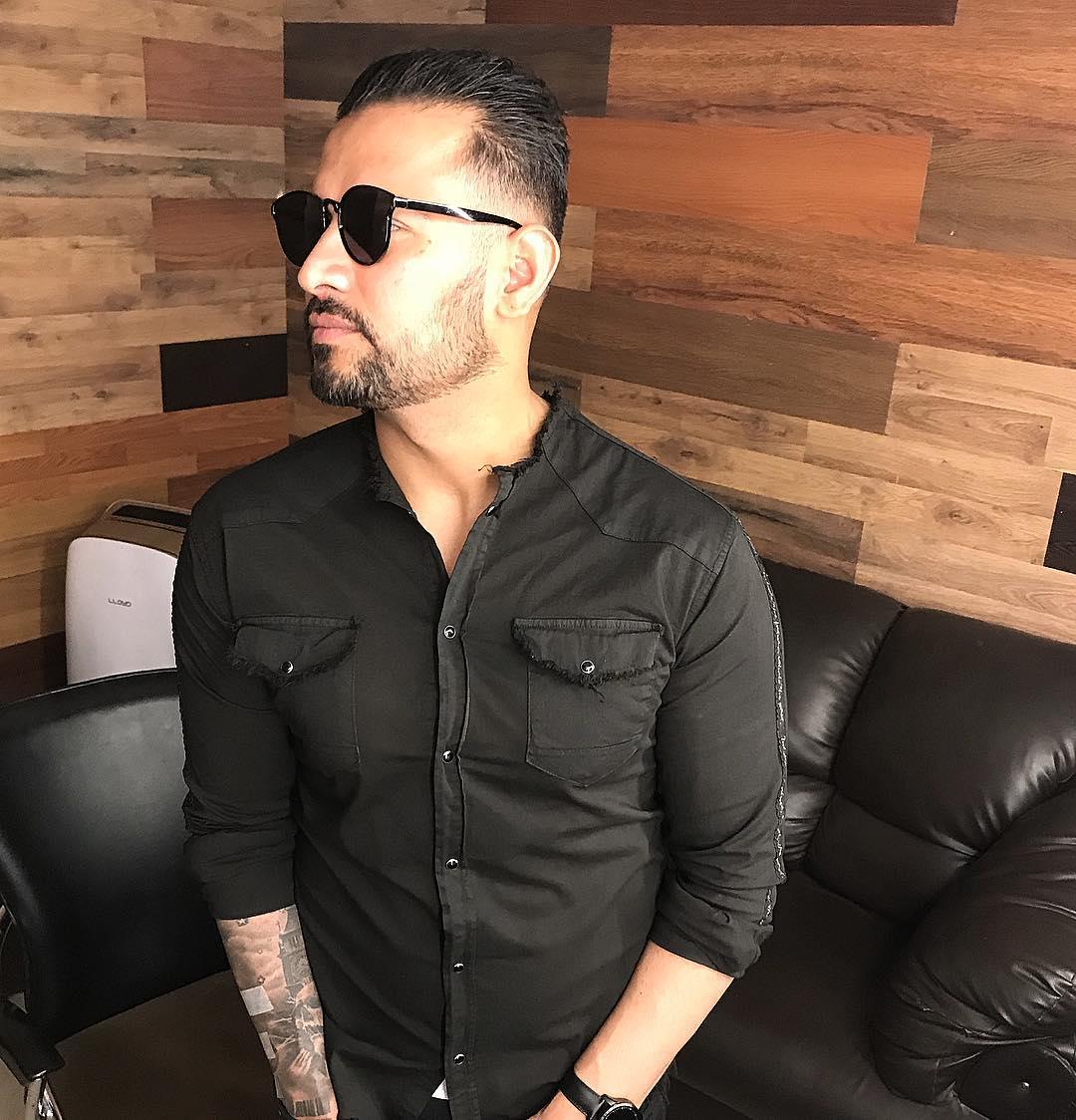 Garry Sandhu hairstyle