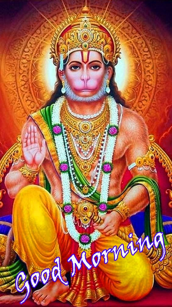 good morning shubh shanivar hanuman ji images
