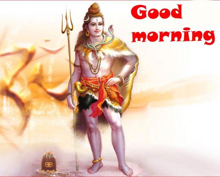 good morning with om namah shivay