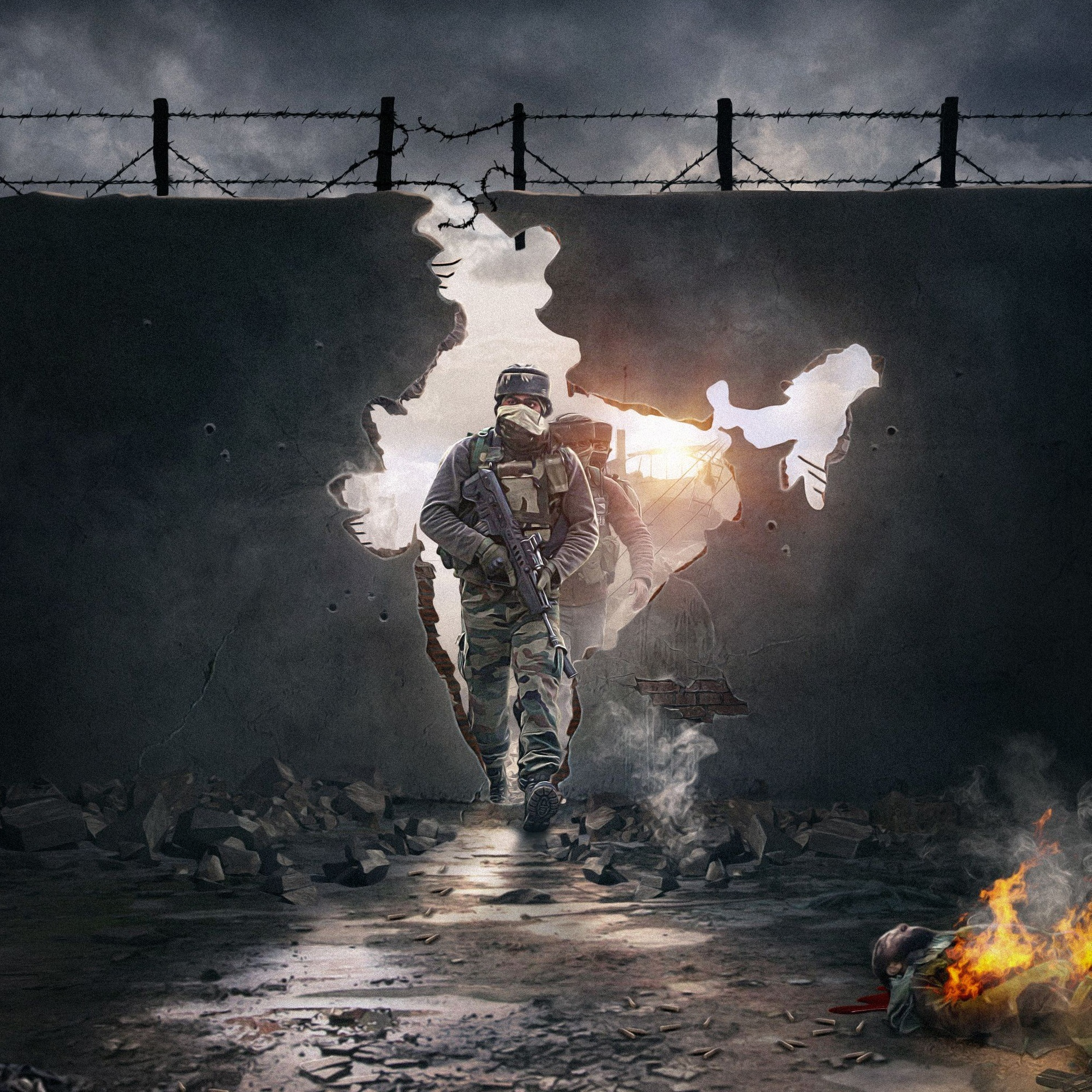 wallpaper indian army
