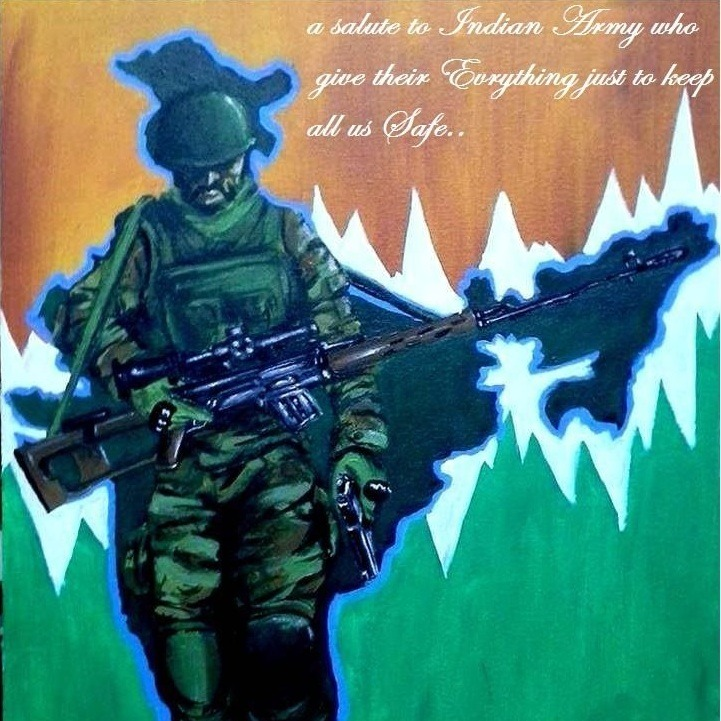 Indian army DP