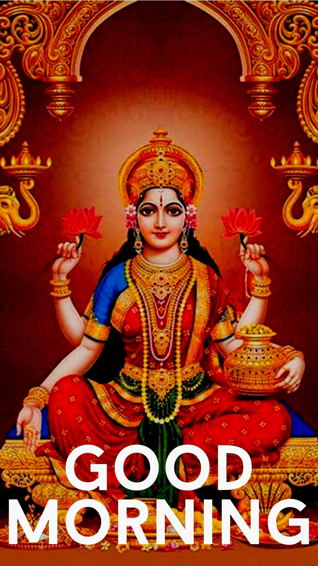 good morning images with mahalaxmi