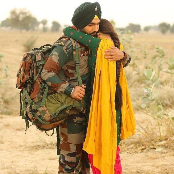 army boy image