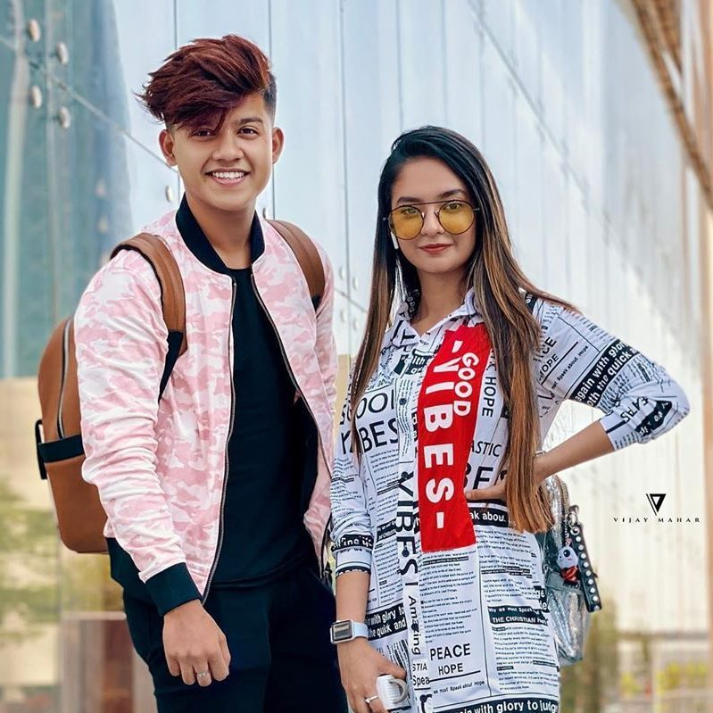 stylish couple up for Facebook