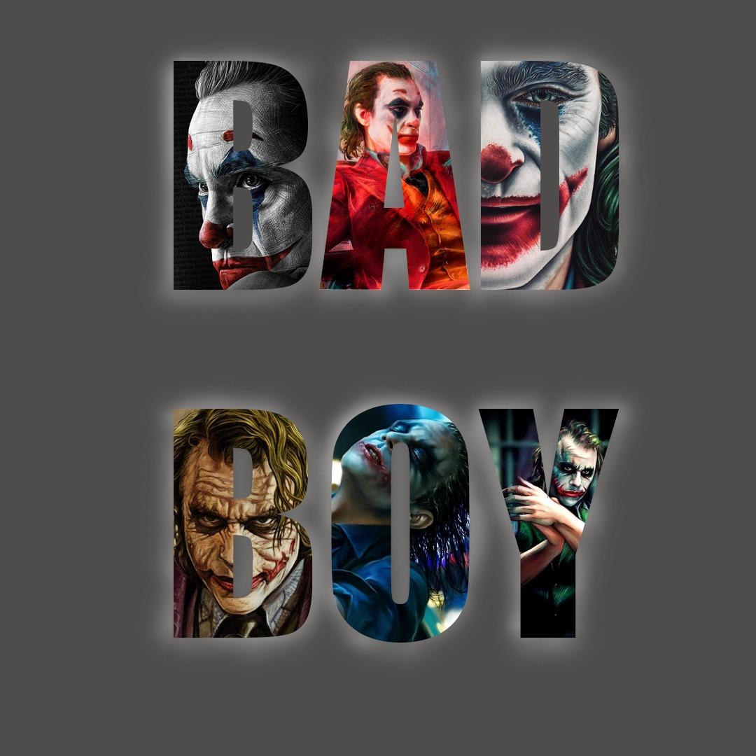 joker bad boy photo download