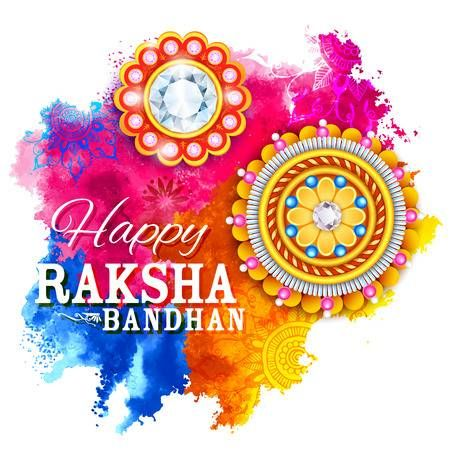 Raksha Bandhan images drawing