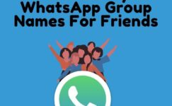 Best Funny Whatsapp Group Names For Friends