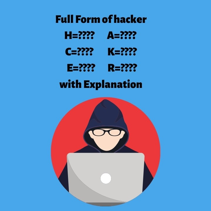 Full form of hacker with expanation