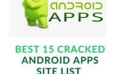 15 Best Cracked Android Apps Site List 2021