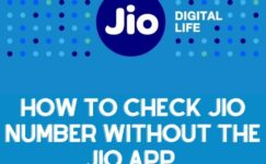 How To Find Jio Number Without The Jio App
