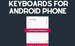 Best 5 Tamil keyboards For Android Phone Download