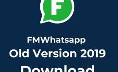 FMWhatsapp Old Version 2019 Apk Free Download