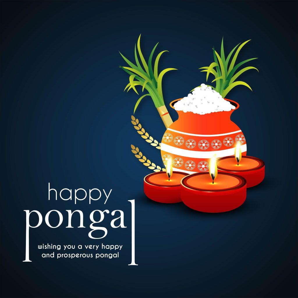 Happy Pongal 2021 Wishes Image & Photo ...