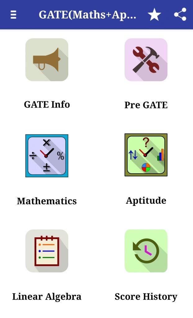 GATE (Maths+Aptitude)