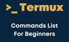 Termux Commands List 2021 Ethical Hacking For Beginners