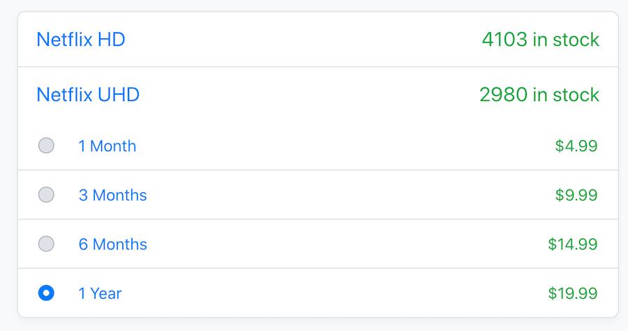 netflix price on accountbot