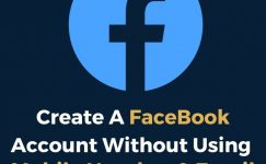 How To Create Facebook Account Without Mobile Number & Email