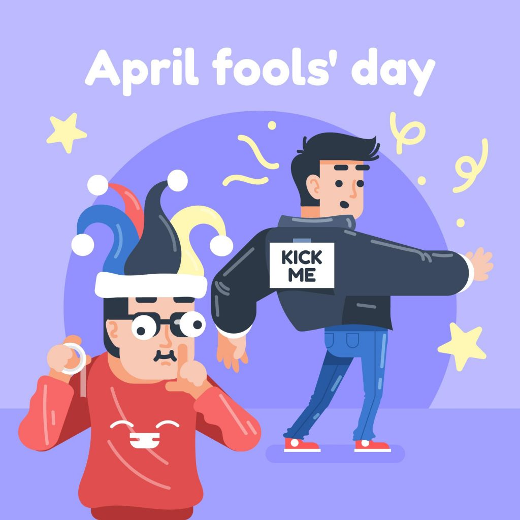 April Fool Day for send