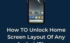 How To Unlock Home Screen Layout In Any Android Phone