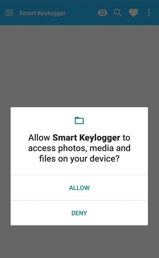 keylooger on android