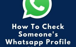 How To Check Someone's Whatsapp Profile Name