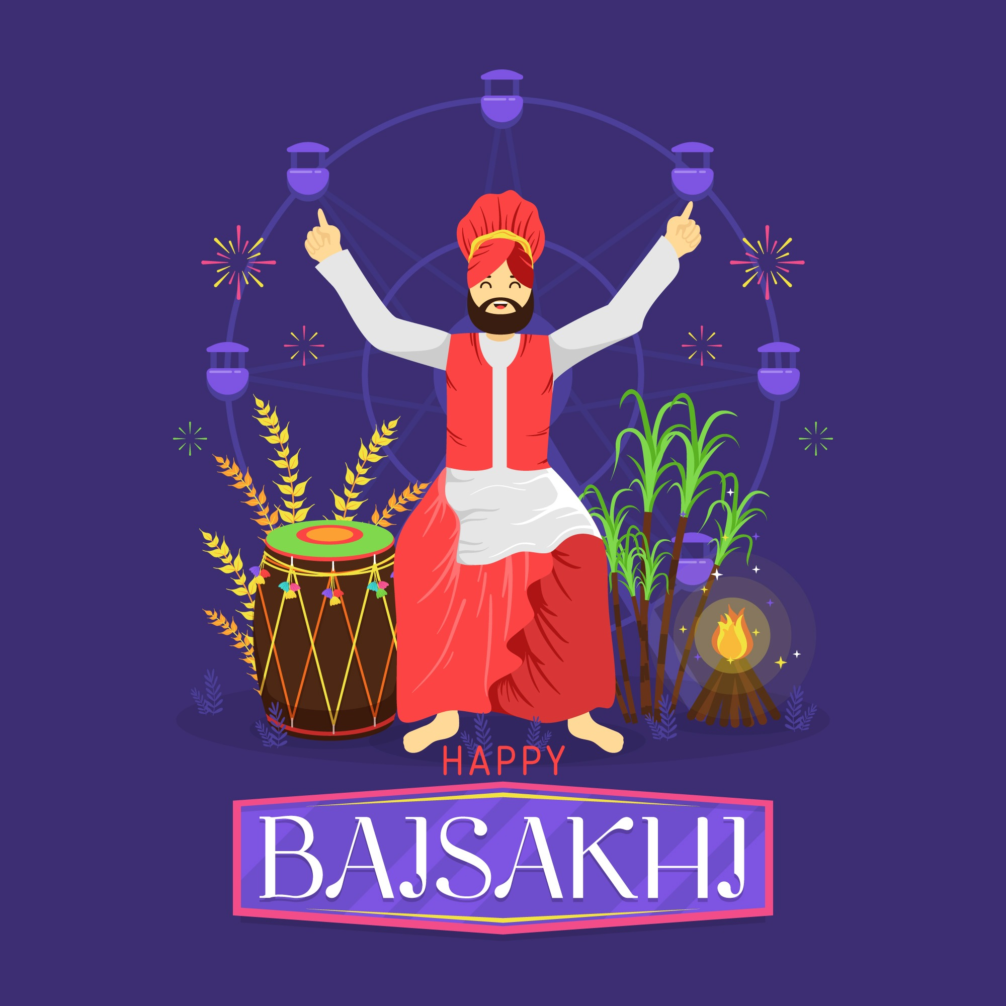 happy baisakhi picture download