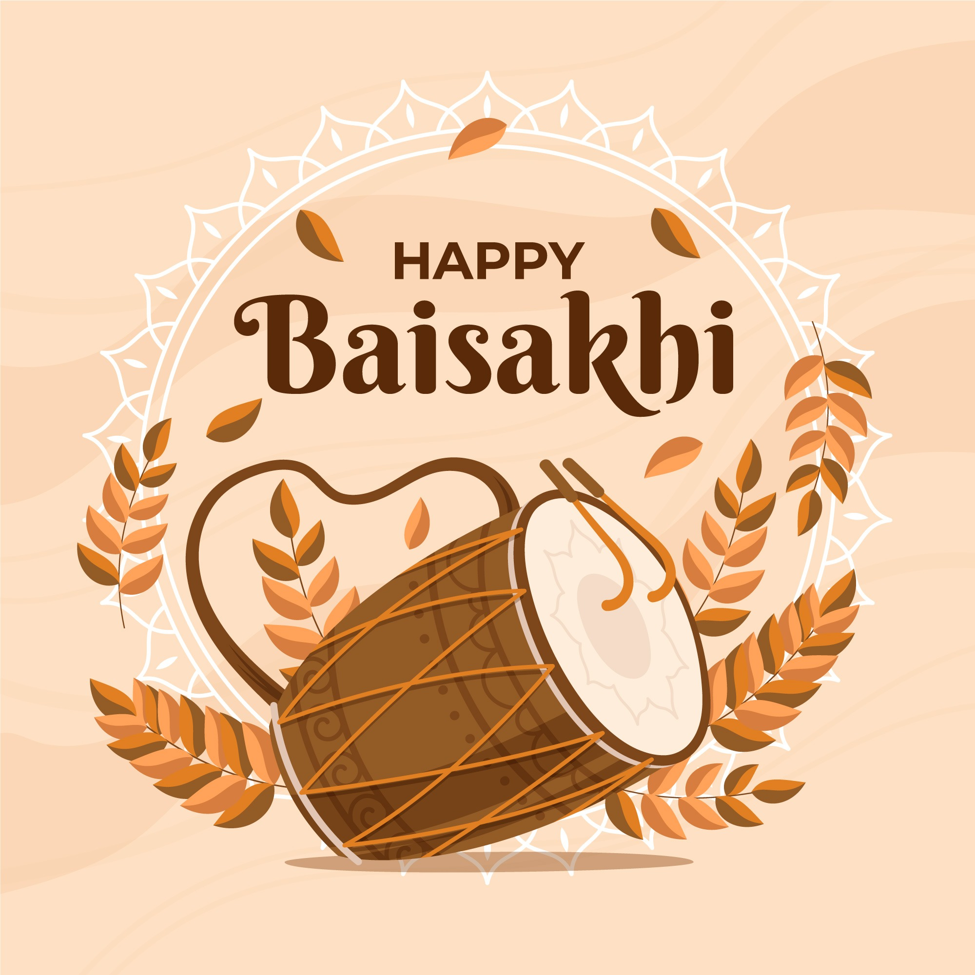 happy baisakhi photo download