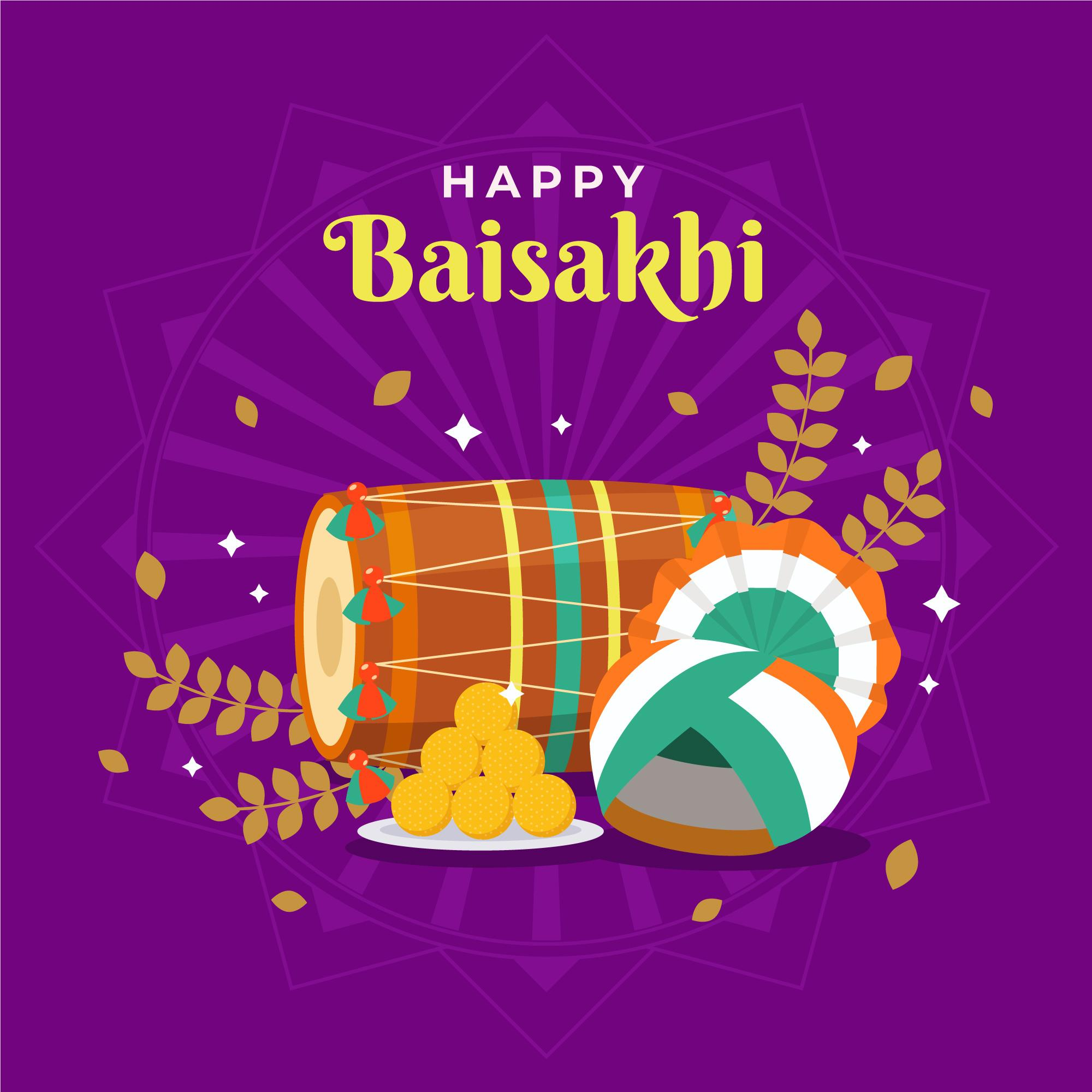 happy baisakhi wallpaper download