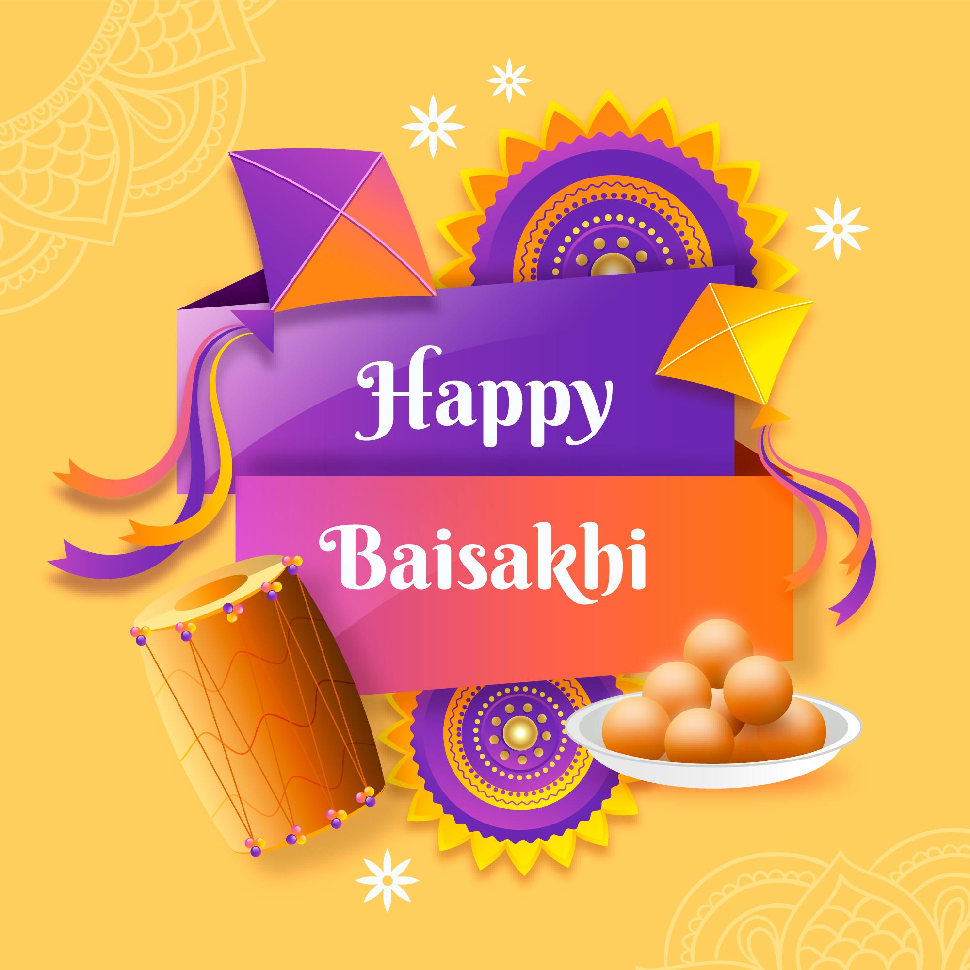 happy baisakhi [currentyear] image